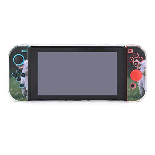Funda para Nintendo Switch Shih Tzu Puppy Running on The Grass 5...