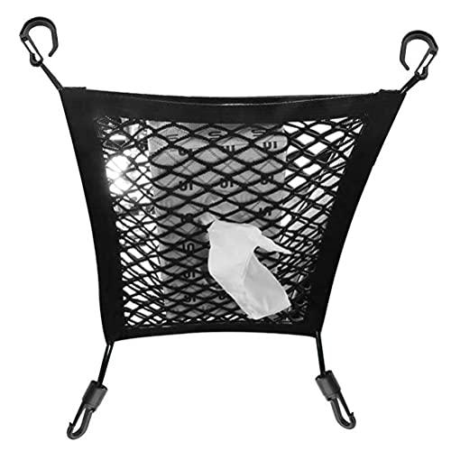 ZANLION Car Purse Net,Universal Elastic Mesh Net Bag Car Seat Organizer Luggage Storage Holder Pocket