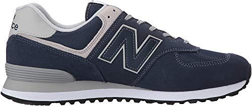 New Balance Herren 574v2 Core Sneaker, Blau (Navy), 40.5 EU