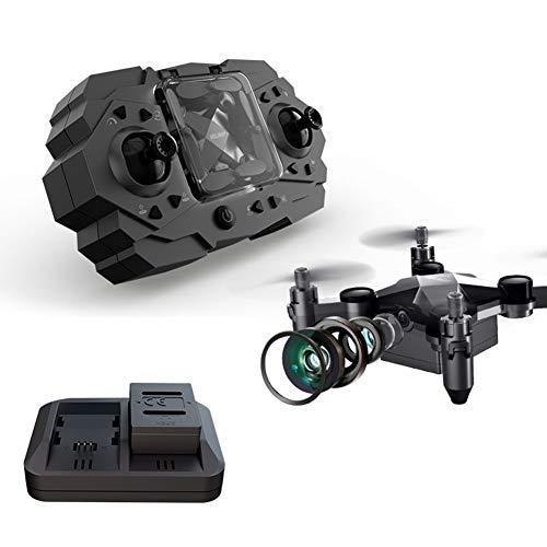 Izzya RC Mini Drone Plegable, con Camara HD 480P, 3 Modos De Velocidad, Altitud Hold, Modo Sin Cabeza, Una Tecla De Inicio/Aterrizaje para Niños y Principiantes