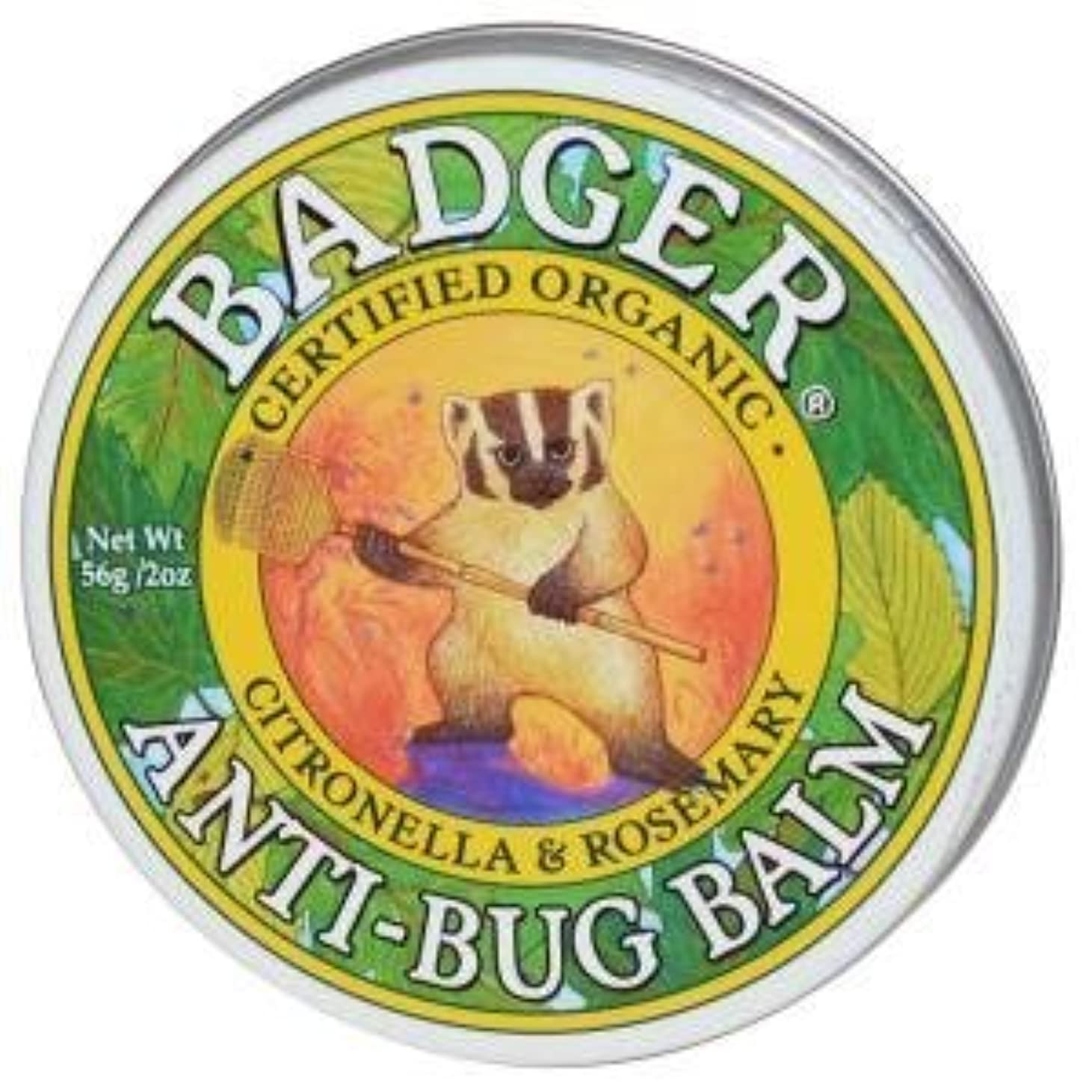 合成壁基準[並行輸入品] バジャー(Badger) プロテクトバーム(虫よけバーム) 56g