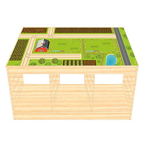 Film de jeu/film de meubles pour IKEA TROFAST en bois - Autocollant pour chambre d'enfant - Meubles non inclus