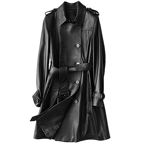 Jsix -  Cappotto - Impermeabile - Manica Lunga - Donna Nero UK/EU XS = Etichetta L