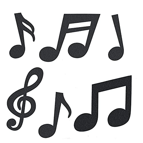 42 Pcs Music Notes Cutouts Musical Party Decorations Music Notes...