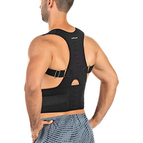 SOFTCELL Posture Correction Back Brace with Adjustable Posture Corrector for Men and Women