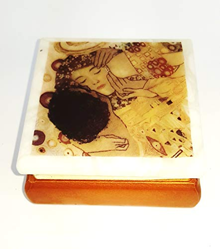 Joyero de Alabastro – Gustav Klimt el beso
