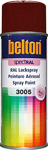 Belton SpecRAL Vernis en spray RAL 3005 Bordeaux brillant 400 ml