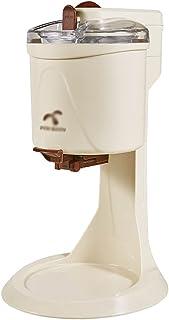آلة الآيس كريم الصيفية للتخفيف من الحرارة آلة مخروط أوتوماتيكية صغيرة منزلية صغيرة آلة صنع الآيس كريم محلية الصنع (Color :...