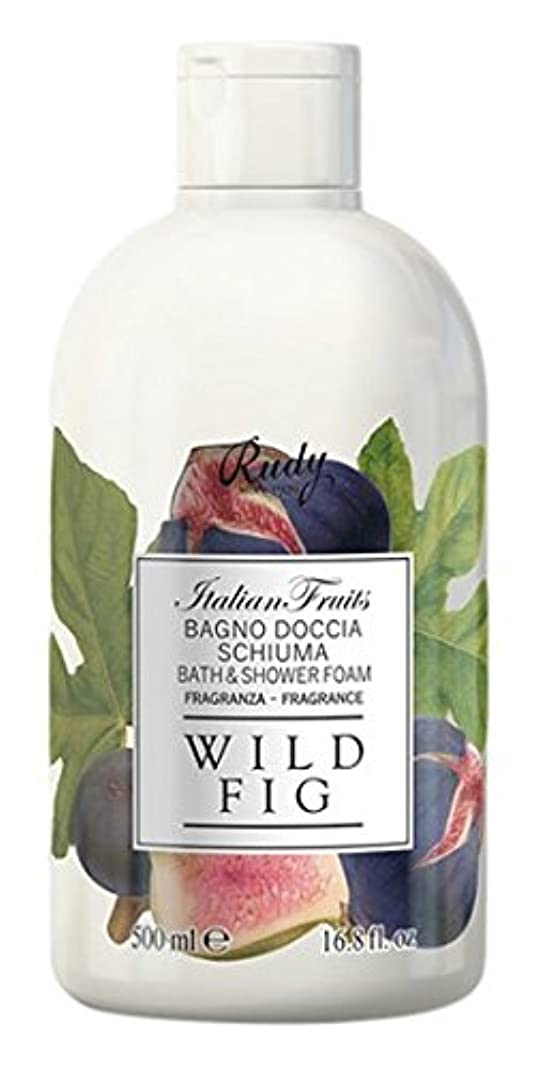 ポール本質的ではない橋RUDY Italian Fruits Series ルディ イタリアンフルーツ  バス&シャワージェル Wild Fig