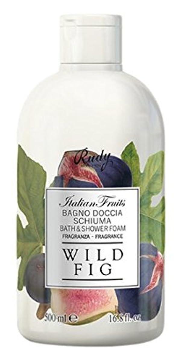 オリエンタル社交的可能にするRUDY Italian Fruits Series ルディ イタリアンフルーツ  バス&シャワージェル Wild Fig