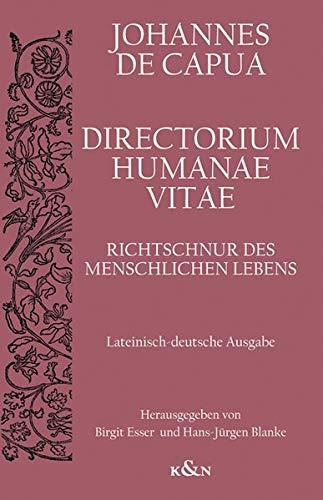 Directorium Humanae Vita. Richtschnur des menschlichen Lebens: Lateinisch-deutsche Ausgabe