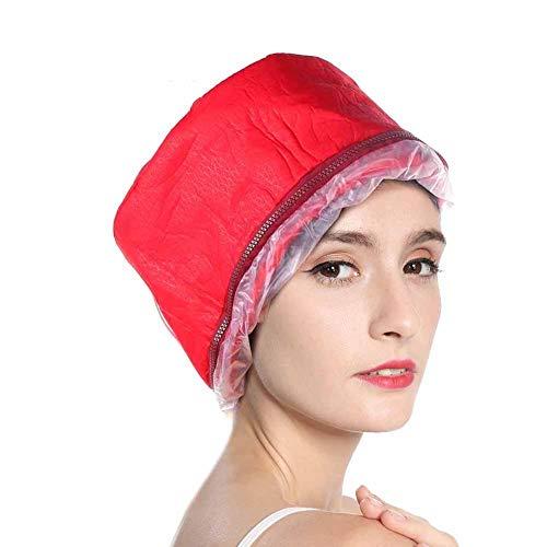 Chapeau de vapeur de cheveux, chapeau de chauffage de masque de cheveux parfait pour le traitement thermique maison Spa cheveux casque vapeur beauté nourrissant chapeau soin des cheveux