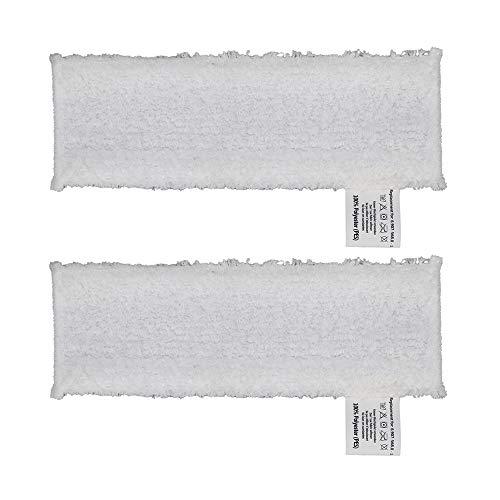 DEYF 2 hochwertiges Mikrofasertuch Set EasyFix Bodentücher für Kärcher Dampfreiniger SC2, SC 3, SC4, SC5 Bodendüse 5€/Stück