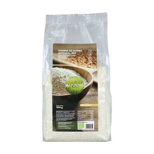 Harina de avena integral sin gluten bio 500 g