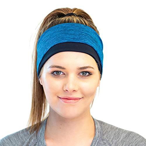 Hiver Sportif Bandeau - Bandeau Cheveux pour Les Femmes Actives