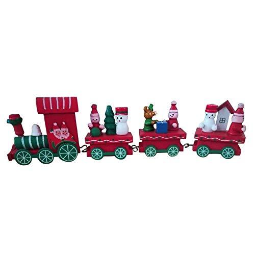 Kindergarten Festive Christmas Decorations Christmas Small Train Children Kindergarten Festive Home & Garden Home Decor