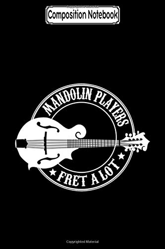 Composition Notebook: Mandolin is not a guitar Fan Music Notebook Journal/Notebook Blank Lined Ruled 6x9 100 Pages