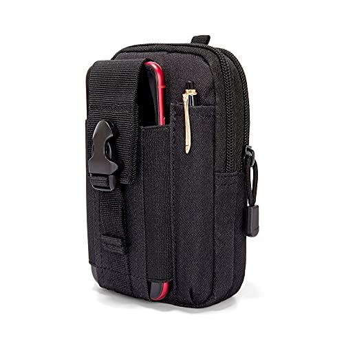 Ginsco Universal Outdoor EDC Belt Waist Bag Tactical Pouch Phone...