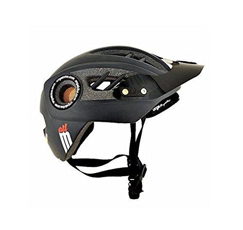 Brooks Erwachsene Fahrradhelm All-M, mat black, S/M (54-57 cm), 32020010