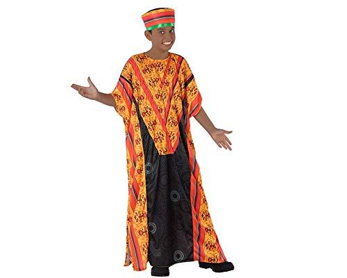 Atosa Disfraz de Africano para niño 5 a 6 años