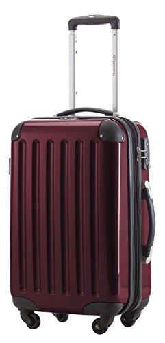 Capitale valigetta Alex 42litri con lucchetto a combinazione in 18colori diversi con valigetta ciondolo in rosso nero borgogna 42 Litri