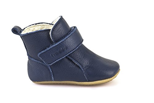 Froddo Baby Prewalkers Baby Winter-Stiefel - dunkelblau - Woll-Futter - G1160001 (24, Dunkelblau)