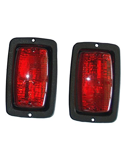 Club Car DS Golf Cart Halogen Taillights - Golf Carts Universe