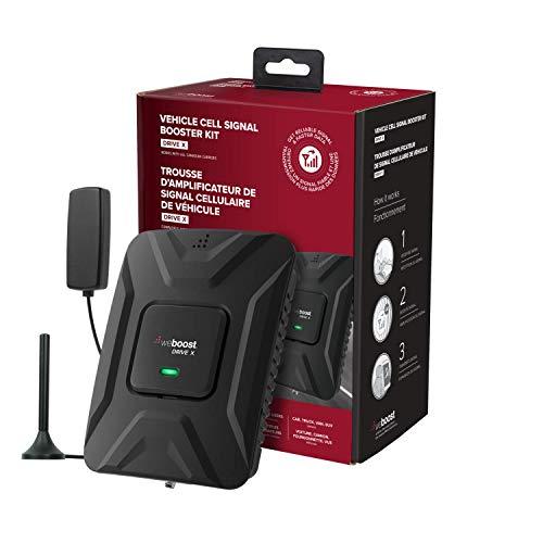 weBoost Drive X (655021) Amplificateur de signal de téléphone portable pour voiture, camion, van ou SUV   Société américaine   Tous les transporteurs canadiens – Bell, Rogers, Telus et plus encore   Approuvé ISED