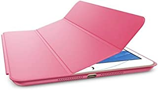 Margoun Tri-Fold for Apple iPad Mini 1/2/3 Faux Smart Case Cover - Pink