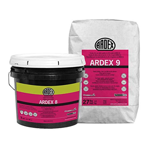 ARDEX 8+9 Gray - Rapid Waterproofing and Crack Isolation Compound Kit 3 Gal+27lb