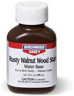 Birchwood Casey Rusty Walnut Wood Stain 3 Ounce
