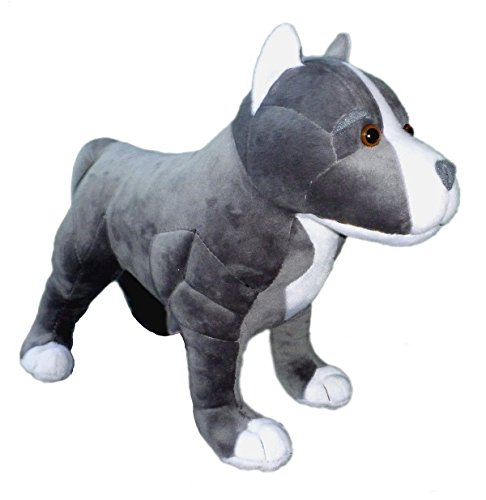 Adore 13' Standing Hope The Pit Bull Dog Stuffed Animal Plush Toy