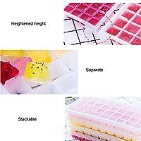 アイストレイ、果物野菜を保管するための収納ボックス密閉蓋付き多機能アイスモールド(3.3L ice box with 4 layers of 144 cells)