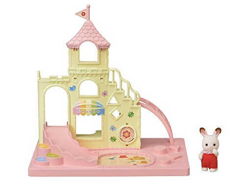 Calico Critters Baby Castle Playground Toy Bunny Gift for Easter Basket