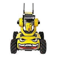 Kiowon DJI RoboMaster S1教育ロボット用ステッカーセット 機体ボディ用スキン シール PVC 防水  (サメの黄色い)