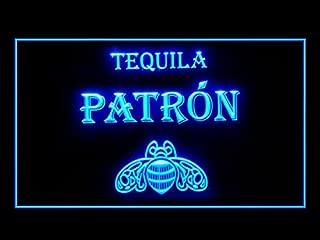 Tequila Patron Beer Bar Pub Led Light Sign