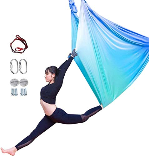 Why Should You Buy YAOSHUYANG Aerial Yoga Hammock, Aerial Yoga Swing Set, Ultra Strong Antigravity Y...