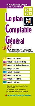 Plan comptable général 2018-2019 de Foucher
