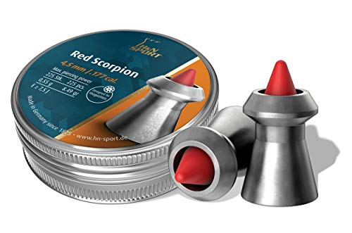 H&N Sport Red Scorpion 4,50 mm balines 4,50, Adultos Unisex, 4,50mm