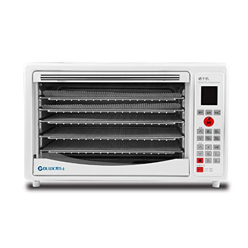 Buy Food Dehydrator/Stainless Steel Oven/Fruit Dryer -5 Drying Rack -temperature Setting Timer-360 Â...