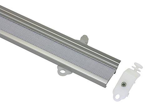 Gardinia 33841 Pannello Portante, Alluminio, Argento, 60 x 2.9 x 0.5 cm