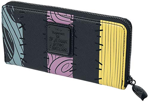 Loungefly x Nightmare Before Christmas Sally Cosplay Zip-Around Wallet, multi-colored, Standard