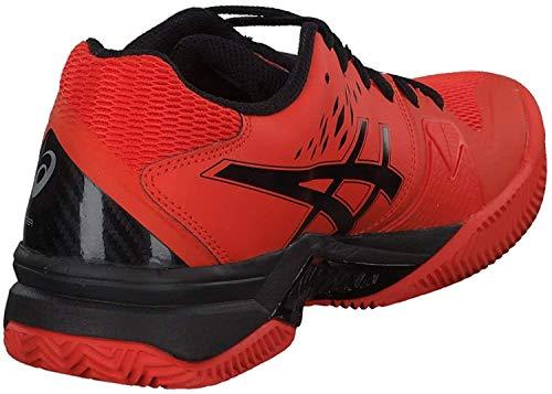 ASICS 1041a048-813, Gel-Challenger 12 Clay 1041A048-813-Zapatillas de Tenis para Hombre, Color Naranja