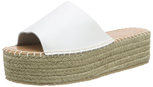 Marc O'Polo Damen Espandrilles Sandal Espadrilles, Weiß (White 100), 41 EU