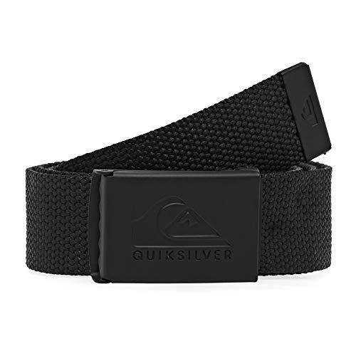 Z0OL0 #Quiksilver Principal Schwack - Cintura In Fettuccia Cintura In Fettuccia, Uomo, black, 1SZ