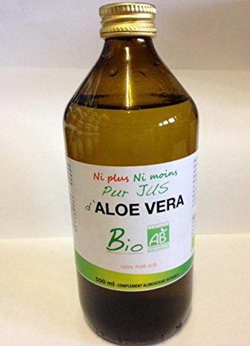Puro Succo di Aloe Vera bio Flacone 500ml