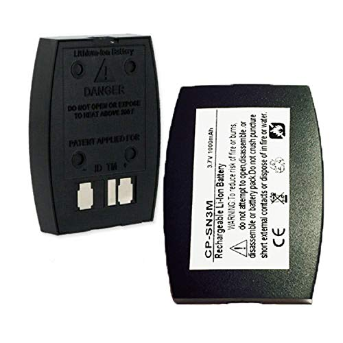 MPF Products 1000mAh BAT1060 Battery Replacement Compatible with 3M C1060 & XT-1 Wireless Drive-Thru Intercom Headset