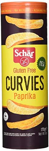 Schär Curvies Paprika Chips glutenfrei, 170 g