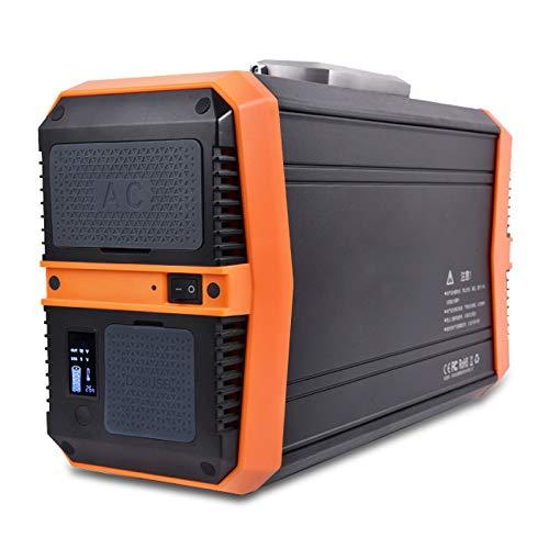 Pixier Tragbarer Power Station, mobiler Energiespeicher Akku Generator Mit Dc/ac Wechselrichter Und LCD Anzeige Für Camping Emergency Outdoor, Mobiler Energiespeicher