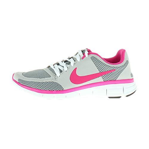 Nike Damenschuhe Laufschuhe Free 7 0 V2 MDM Gry VVD Pink-NT 396044002 (Numeric_35_Point_5)